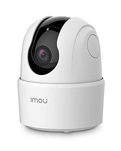 Imou 2021 Version Caméra Surveillance WiFi Intérieure Caméra 360° Connectée Smartphone 1080P avec Détection Humaine AI Suivi Intelligent Sirène Audio Bidirectionnel Compatible Alexa pour Bébé/Animaux
