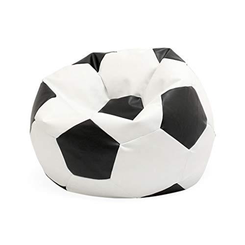 Yjsofa Sedia a Sacco per Divano da Calcio in Ecopelle/Tessuto in Nylon (Colore : A-Faux Leather)