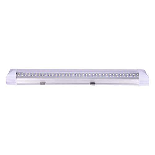 Outtybrave LED Luce Neon, 72LED Interni Auto luci Bianco Striscia Bar Lampada 12V 4.5W con...
