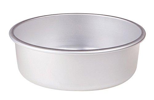 Pentole Agnelli AGN820V30 Tortiera Conica, Alluminio, Argento, 30 cm