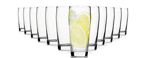 Pasabahce Professional Bicchieri per Acqua/260 ml/Set da 12/Bicchieri di Alta qualità/Lavabili in Lavastoviglie/Bicchieri in Cristallo