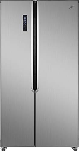 Daya, frigorifero side by side, DFA-550NV2XF0, classe F, kitchen slim (profondo 60 cm), total inox, total no frost, display LCD