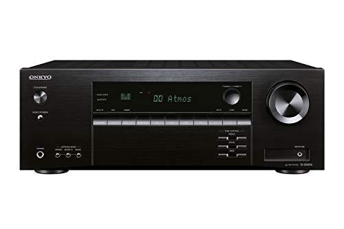 Onkyo TX-SR494(B) 7.2 Kanal AV Receiver (Dolby/DTS:X, AccuEQ, AccuReflex, 4K, Bluetooth, 160 W/Kanal) Schwarz