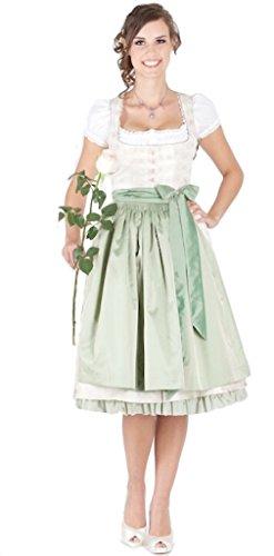 Julia Trentini 12053 - Dirndl Kathi, marzapane anni '70 bianco 40