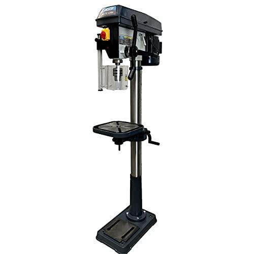 Trapano a colonna professionale orientabile e inclinabile ad alta precisione con trasmissione a cinghia capacit 25mm velocit regolabile 230v - echoENG