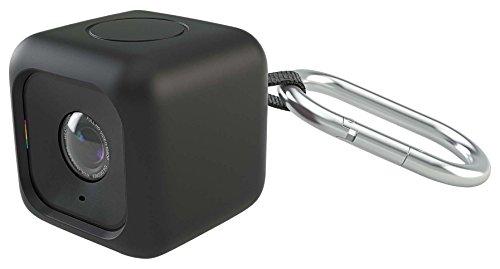 【日本正規代理店品】 Polaroid ポラロイド キューブ HDアクションカメラ用 バンパーケース ブラック POLC3PM