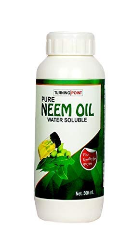 Chipku Cold Pressed Neem Oil for Plants Spray/Organic Insect Repellent/Water Soluble Grade, 500 ml