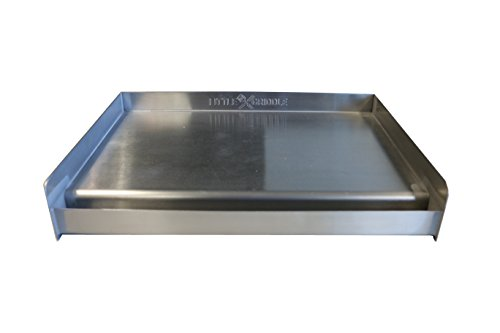 Sizzle-Q SQ180 100% Stainless Steel Universal Griddle with...