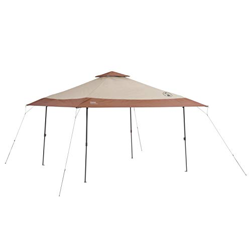 Coleman Canopy Tent   13 x 13 Sun Shelter with Instant Setup, Khaki
