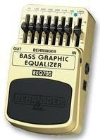 Behringer Beq700 Guitar Pedal, Bass Graphic Eq