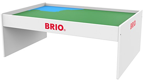 BRIO World 33099 - Play Table - Wood Train Set Table for Kids Age 3 and up,Multi
