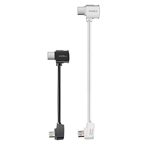 STARTRC Micro USB a Tipo C Cavo OTG Dati Cavo per DJI Mavic Mini/Mavic PRO & Platinum/Spark/Mavic Air/Mavic 2 PRO & Zoom Drone 3.9/11.8 pollici