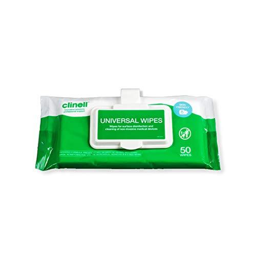 Clinell Universal - Pacco da 50 Salviette