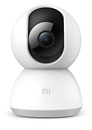Xiaomi Mi Home Security Camera 360 1080P, Videocamera di Sicurezza, Ruota a 360, Visione notturna, Connettivit Wi-Fi, Bianco