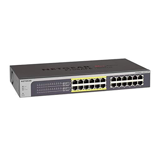Netgear JGS524PE PoE Smart Managed Plus Switch a...