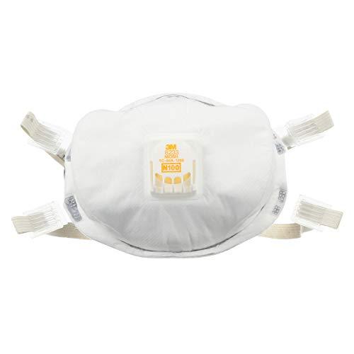 3M - 51138541434 Particulate Respirator 8233, N100 (1 Piece)
