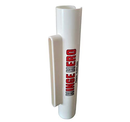 Hinge Hero. Door Hinge Lubrication Tool. Stop Squeaky Door Hinges. No Mess. Easy to use. Patented Product.