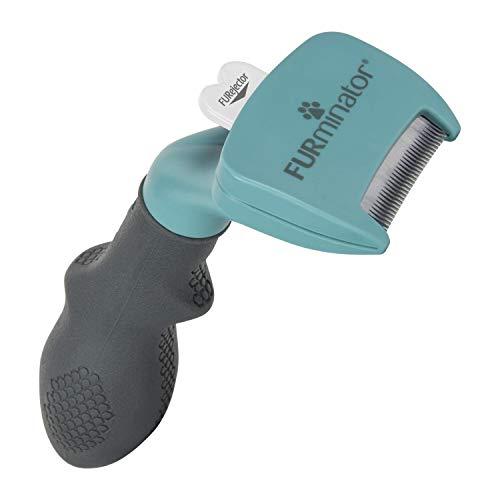 FURminator Undercoat deShedding Tool para gatos pequeños de pelo...