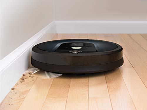 31GK8XoemhL [SUPER Bon Plan] iRobot Roomba 981, aspirateur robot, idéal pour les tapis avec forte puissance d'aspiration