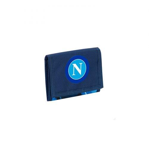 ssc napoli 3D9031904_550, Porta Carte di Credito, 9 cm, Blu Deep