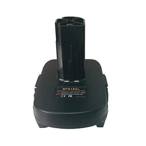 BPS18GL Battery Adapter for Decker 18V/20V Lithium Battery for CRAFTSMAN Nickel Lithium Batteries Convertor Adapter