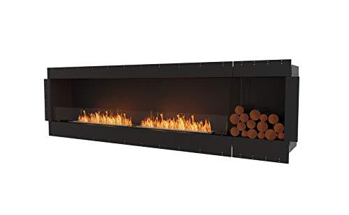 EcoSmart Fire Single Sided Flex 104SS.BXR (18L) Luxury Bio Ethanol Fireplace