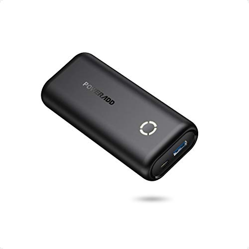 POWERADD EnergyCell 10000 Compact Portable Charger, Smallest 10000mAh Power Bank Compatible for iPhone, Samsung Galaxy and More