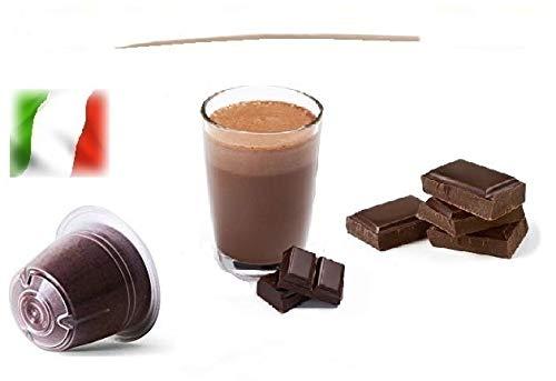Caffè Shop Cápsulas compatibles Nespresso®, Cápsulas Mezcla Mini Ciok - Mini Chocolate Linea Espresso (20 Cápsulas)