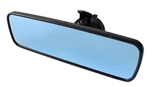 Unknow Car Anti-glare Rear Review Mirror Truck Interior Rear View Mirror (Blue Mirror-All Black Border)