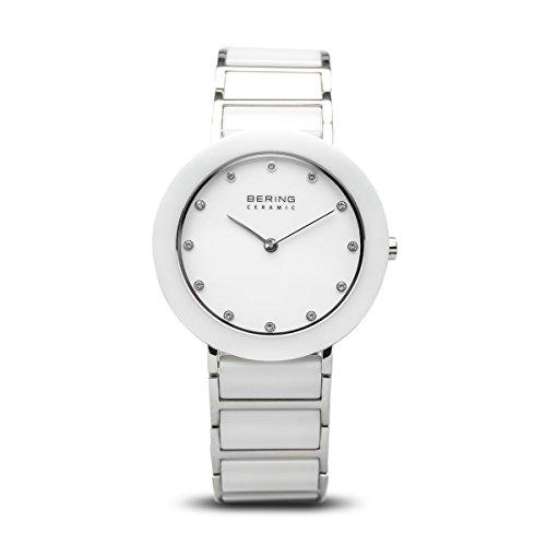 BERING Damen-Armbanduhr Analog Quarz Edelstahl 11435-754