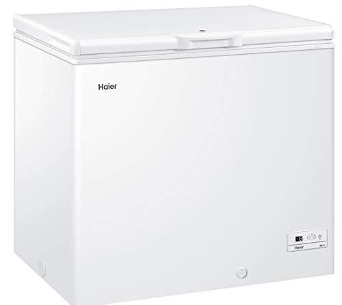 Haier HCE203R Congelatore, Libera installazione 203L, A+ ,Bianco, Senza installazione