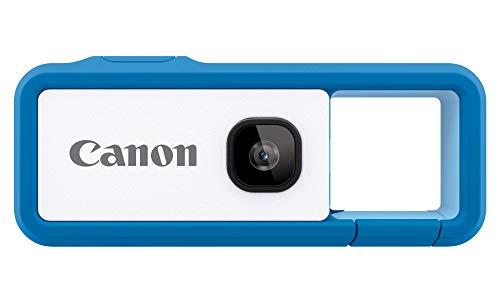 Canon キヤノン iNSPiC REC BLUE ブルー 小型 防水 耐久 身につけるカメラ FV-100 Blue