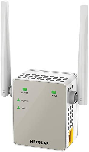 Netgear EX6120 Ripetitore WiFi AC1200, Access Point Dual Band, Porta LAN, Compatibile con Modem...