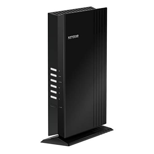 NETGEAR Ripetitore WiFi 6 Mesh AX1800 EAX20, WiFi Extender con 4 Porte Lan e 4 Stream, Ripetitore WiFi Wireless Compatibile con Modem Fibra e Adsl