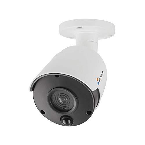 Nivian-Fake Bullet Camera, replica della telecamera reale, Telecamera di sicurezza di sorveglianza falsa impermeabile fittizia -Corona Real IR LED e PIR -Telecamera simulata CCTV falsa
