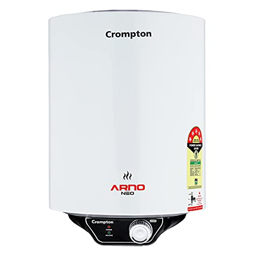 Crompton Arno Neo 15-L 5 Star Rated Storage Water Heater (Geyser) with Advanced 3 Level Safety...