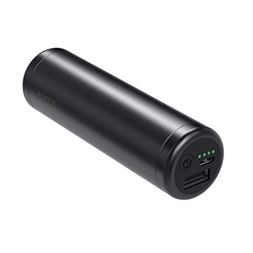 AUKEY Mini Power Bank 5000mAh, Batteria Portatile...