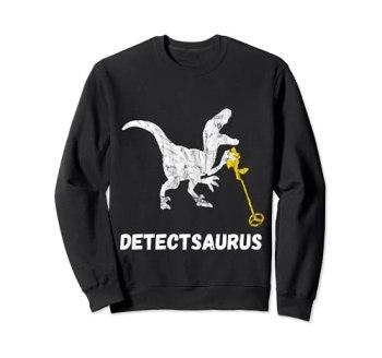 Détecteur de métaux Saurus Relic Hunter T-Rex Sweatshirt