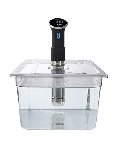 Sous Vide Anova PS24GN Contenitore per sous vide in policarbonato da 20 litri con coperchio tagliato su misura per la cucina, 32.5 x 53 x 20 cm