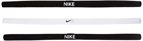 Nike Elastico Hairbands, Confezione da Fascia, Donna, Elastic Hairbands, 3er Pack, 036...