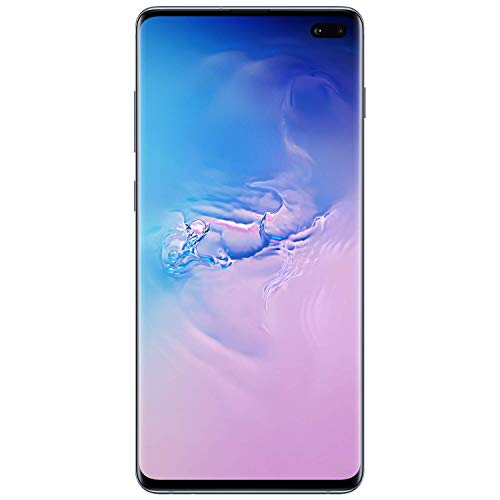 Samsung Galaxy S10+, 128GB, Prism Blue - For AT&T / T-Mobile (Renewed)