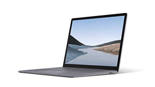 """Microsoft Surface Laptop 3 – 13.5"""" Touch-Screen – Intel Core i5 - 8GB Memory - 128GB Solid State Drive (Latest Model) – Platinum with Alcantara 1"""