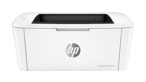 HP M15w LaserJet Pro -  Impresora Láser (USB 2.0, WiFi, 18 ppm, memoria de 8 MB, Wi-Fi Direct y aplicación HP Smart)