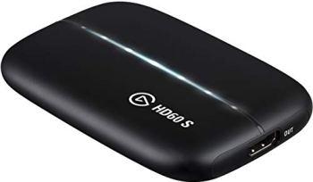 Elgato HD60 S, Carte d'Acquisition, Capture en 1080p60, Pass-Through sans Décalage, Ultra-Faible Latence, PS5, PS4, Xbox Series X/S, Xbox One, Nintendo Switch, USB 3.0