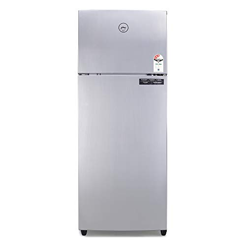 Godrej 290 L 3 Star Inverter Frost-Free Double Door Refrigerator (RF EON 290C 35 RCIF ST RH, Steel Rush, 6 in 1 Convertible)