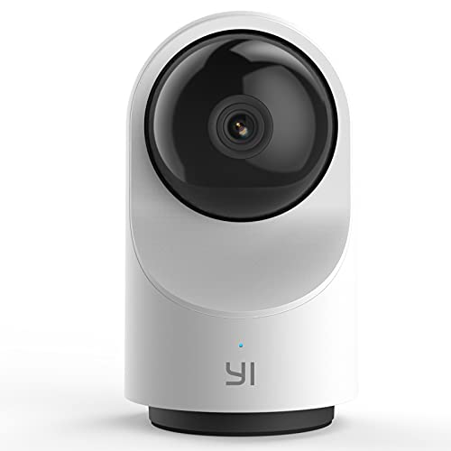 YI Telecamera Wi-Fi Interno 1080p Dome X,Telecamera Sorveglianza Ip Camera Wifi Smart Videocamera di Sicurezza Full HD 360°Pan-tilt,Sensore di Movimento,Time-Lapse,Auto On/Off,supporta micro SD card
