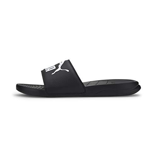 PUMA Popcat 20, Zapatos de Playa y Piscina Unisex Adulto, Black White, 44.5 EU