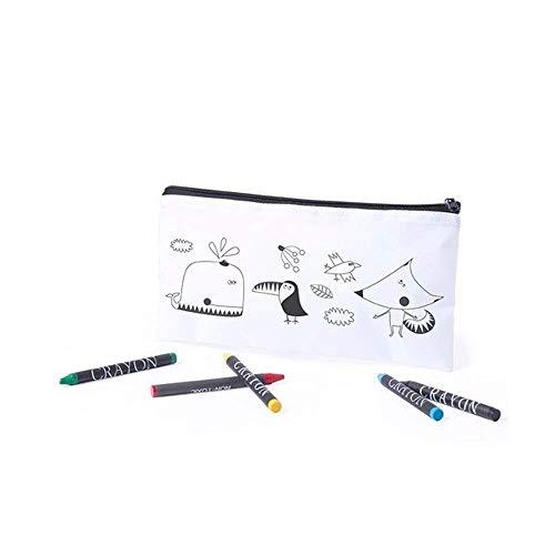 MIRVEN - Set di 30 astucci da colorare con 5 colori di cera inclusi ciascuno, Ideale per regali di...