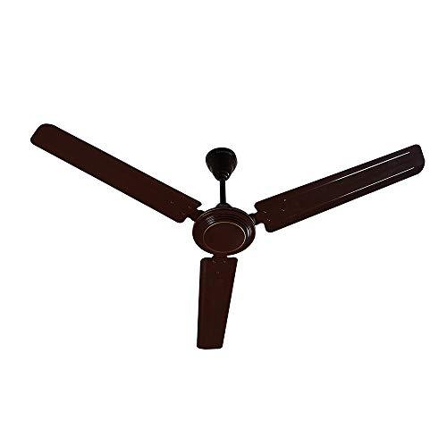 Crompton Hill Briz 1200 mm (48 inch) High Speed Ceiling Fan (Brown)
