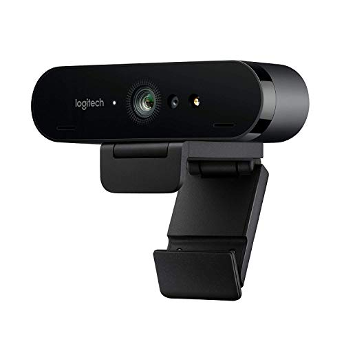 Logitech Brio Stream Webcam, Ultra HD 4K Streaming Edition, 1080p/60fps Hyper-Fast Streaming, Wide...